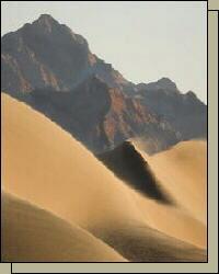 Mountain Sand Dunes